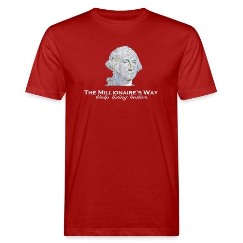 Il nostro logo in bianco - T-shirt ecologica da uomo