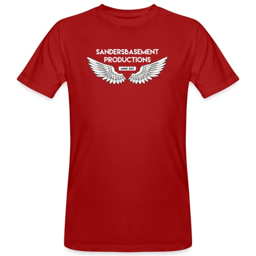T SHIRT logo wit png png - Mannen Bio-T-shirt