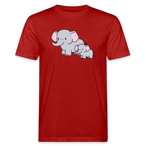 Elephants - Camiseta ecológica hombre