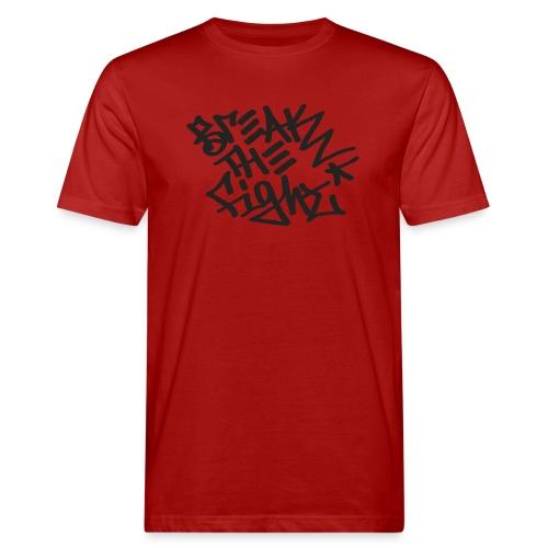 BREAK THE FIGHT - Miesten luonnonmukainen t-paita