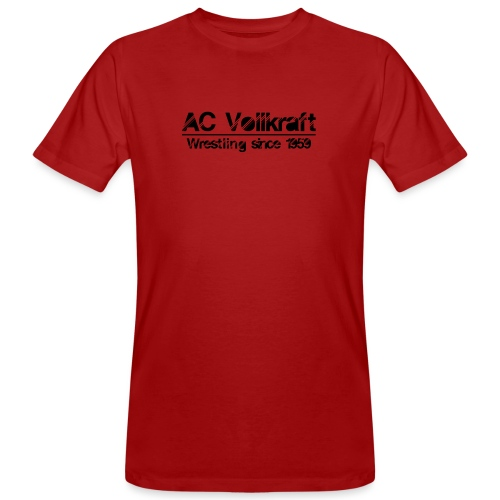 Ac Vollkraft - Wrestling since 1959 - Männer Bio-T-Shirt