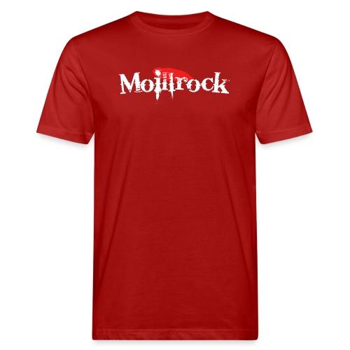 moillrockstortransparent - Økologisk T-skjorte for menn
