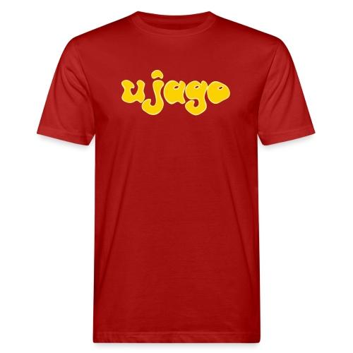 ujago gelb - Männer Bio-T-Shirt