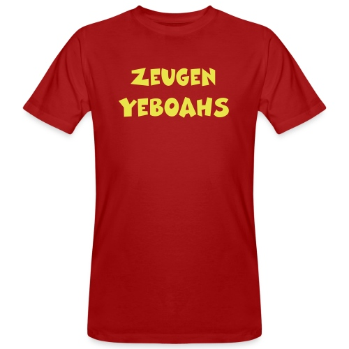 Zeugen Yeboahs - Männer Bio-T-Shirt