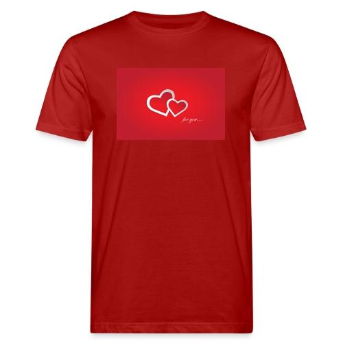 for you - Männer Bio-T-Shirt