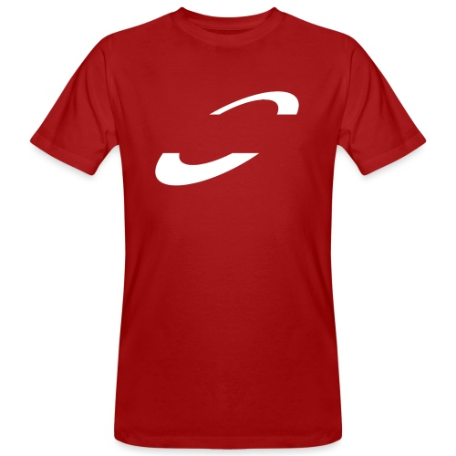 Planet Cycling Icon White - Men's Organic T-Shirt
