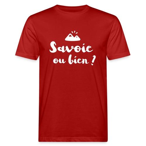 Savoie ou bien - T-shirt bio Homme