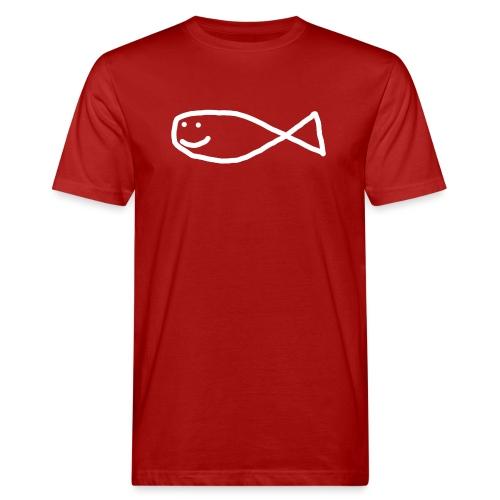Klassisk Strandfisk T-Shirt - Økologisk T-skjorte for menn