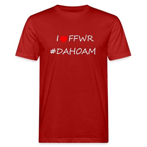 I ❤️ FFWR #DAHOAM - Männer Bio-T-Shirt