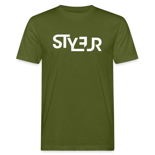 styleur logo spreadhsirt - Männer Bio-T-Shirt