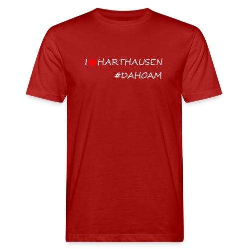 I ❤️ HARTHAUSEN #DAHOAM - Männer Bio-T-Shirt