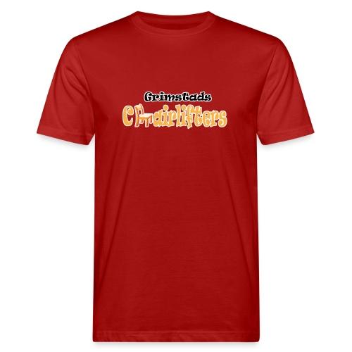 Uten bakgrunn med ramme - Økologisk T-skjorte for menn