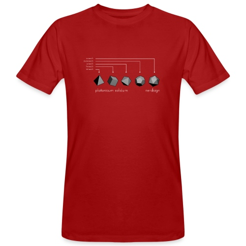 Platonicum solidum - Men's Organic T-Shirt