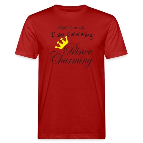 Prince Charming - Männer Bio-T-Shirt