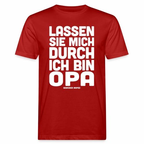 Opa - Männer Bio-T-Shirt