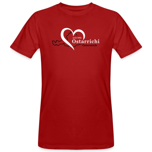 heartoftaustria - Männer Bio-T-Shirt