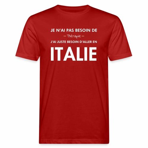 L'Italie est ma thérapie - T-shirt bio Homme