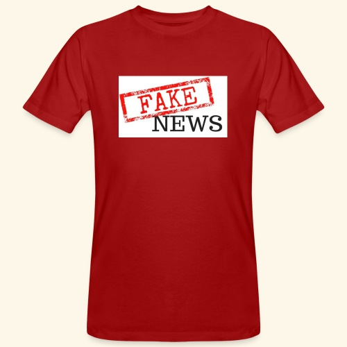 fake news - Men's Organic T-Shirt