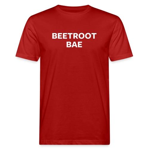 Beetroot Bae Night Mode - Men's Organic T-Shirt