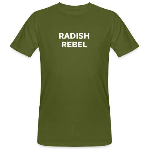 Radish Rebel Night Mode - Men's Organic T-Shirt