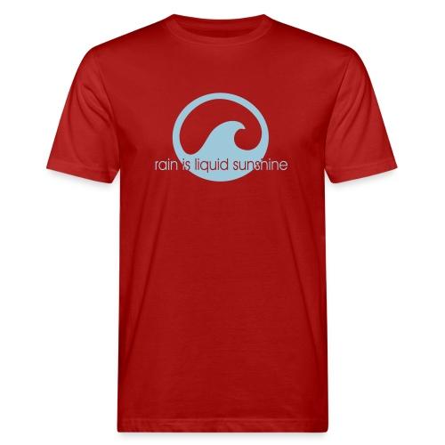 rain is liquid sunshine - Männer Bio-T-Shirt