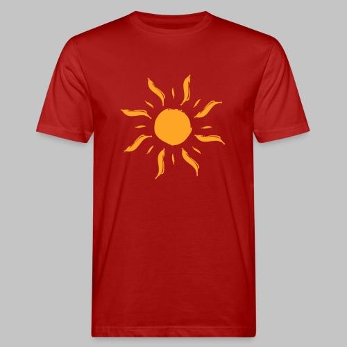 Sonne by ms-creative.com - Männer Bio-T-Shirt