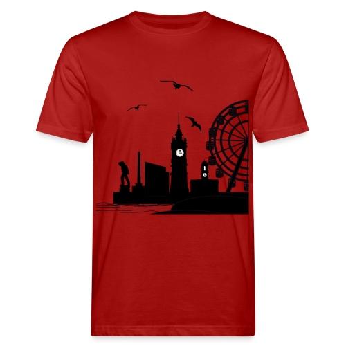 Silhouette of Margate - Men's Organic T-Shirt