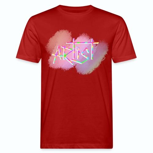 Artist in Colors - Camiseta ecológica hombre