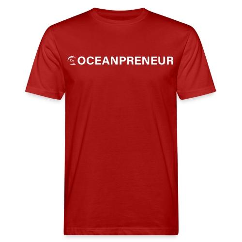 oceanpreneuer white - Männer Bio-T-Shirt