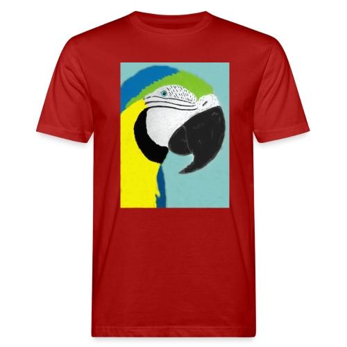Parrot, new - Miesten luonnonmukainen t-paita