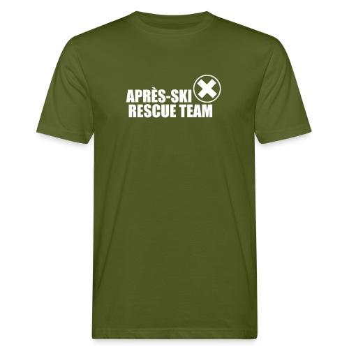 APRÈS SKI RESCUE TEAM 2 - Mannen Bio-T-shirt