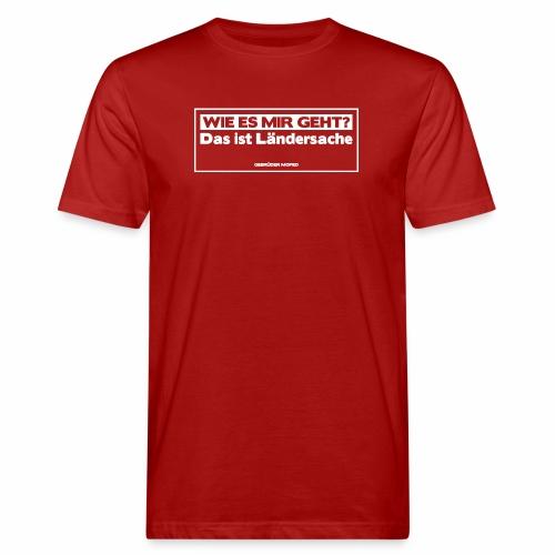Das ist Ländersache - Männer Bio-T-Shirt