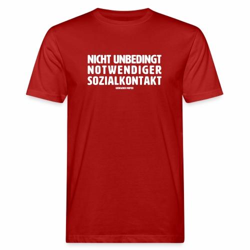 Sozialkontakt - Männer Bio-T-Shirt