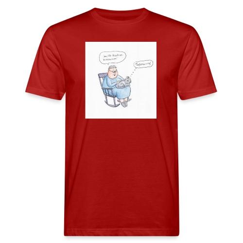 tafskärring - Ekologisk T-shirt herr