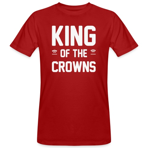 King of the crowns - Mannen Bio-T-shirt