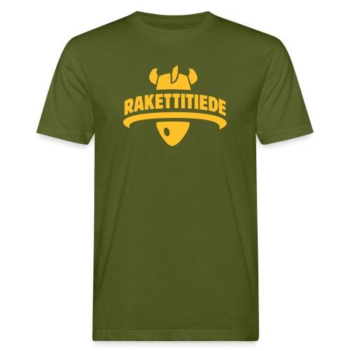 Rakettitiede only - Miesten luonnonmukainen t-paita