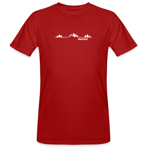 Bergpanorama - viereckad - Männer Bio-T-Shirt