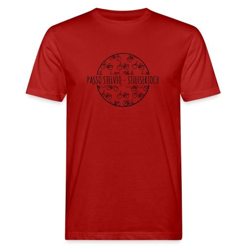 Radfahrer - Männer Bio-T-Shirt