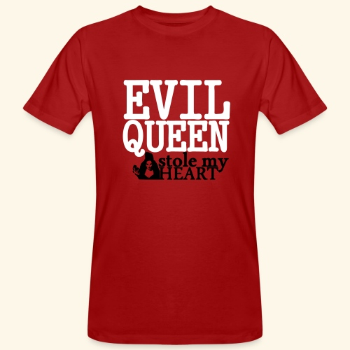 Evil Queen stole my Heart Once Upon A Time Shirts - Men's Organic T-Shirt