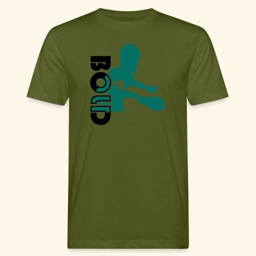 BOLD, table tennis championship ideal gift - Männer Bio-T-Shirt
