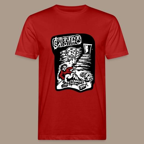 Alitajunnan Salaliitto 2-värinen - Miesten luonnonmukainen t-paita