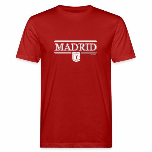 Camiseta Madrid Negra - Camiseta ecológica hombre