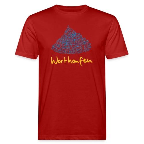 Worthaufen - Männer Bio-T-Shirt