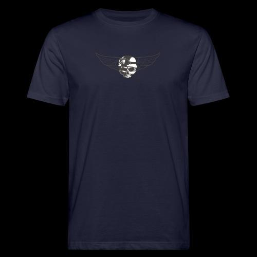 Biker skull - Men's Organic T-Shirt