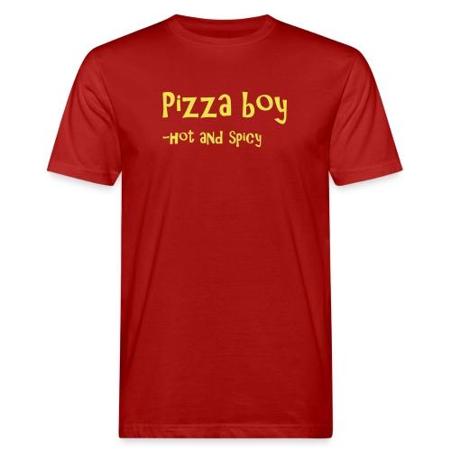 Pizza boy - Økologisk T-skjorte for menn