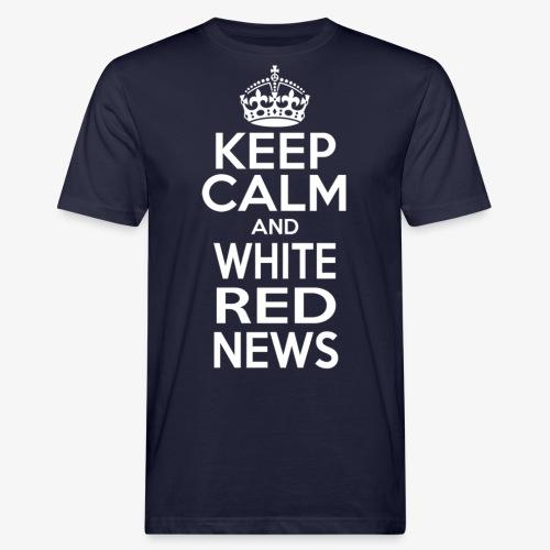 Tazza Rossa Keep Calm WRN - T-shirt ecologica da uomo