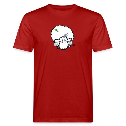Christmas Tree Sheep - Mannen Bio-T-shirt