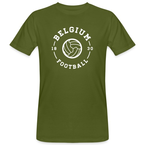 Belgium football - Belgique - Belgie - T-shirt bio Homme