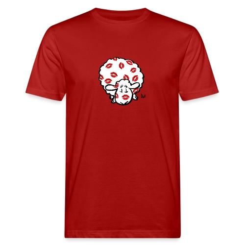Kiss Ewe - Økologisk T-skjorte for menn