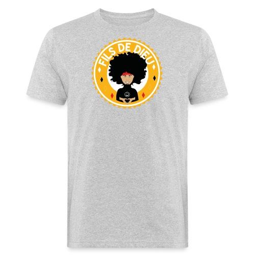 Fils de Dieu jaune - T-shirt bio Homme